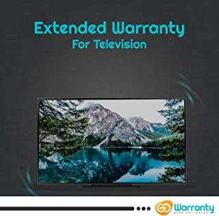 GoWarranty 4 Year Extended Warranty for Television - All Brands Covered (Rs 20001 - Rs 40000) Email Delivery