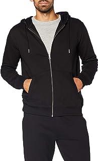 MERAKI Sweat-Shirt Zippé à Capuche Homme, Coton Organique