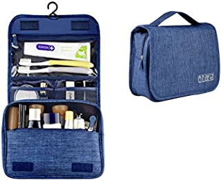 YOUBAMI Hanging Toiletry Bag with Hanging Hook, Polyester Large Capacity Portable Multifunction Travel Makeup Bag Cosmetic...