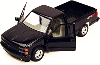 Motormax 1992 Chevy 454SS Pickup Truck 1/24 Scale Diecast Model Car Black
