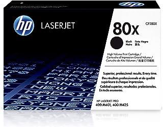 Best HP 80X | CF280X | Toner Cartridge | Works with HP LaserJet Pro 400 Printer M401 series, M425dn | Black | High Yield Review