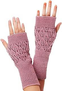 Sannysis Damen-Handschuh, Gestrickte Fingerhohl Warm Fäustlinge