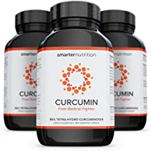 Smarter Turmeric Curcumin - Potency and Absorption in a SoftGel | The Most Active Form of Curcuminoid Found in the Turmeric Root | 95% Tetra-Hydro Curcuminoids (180 Count - 3 Month Supply)