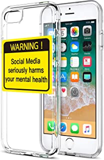 Shark Compatible Social Media Seriously Harms Your Metal heatlh Phone case for iPhone 6/6s Plus