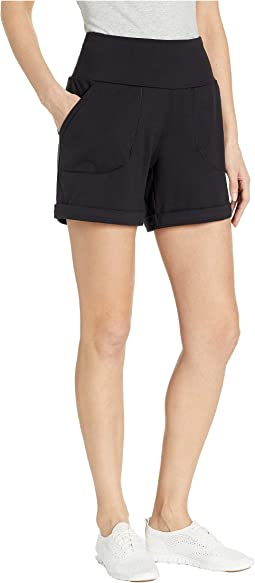 High-Rise Knit Shorts