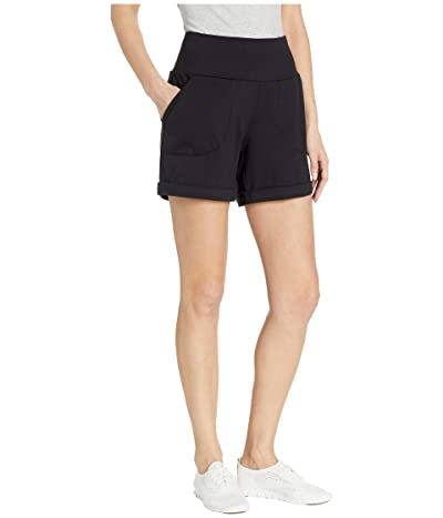 The North Face High-Rise Knit Shorts (TNF Black) Women