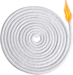 6.56 Feet Oil Lamp Wicks Replacement Braided Round Candle Wick for Oil Lamps and Candles, DIY Handmade Candle Making Suppl...