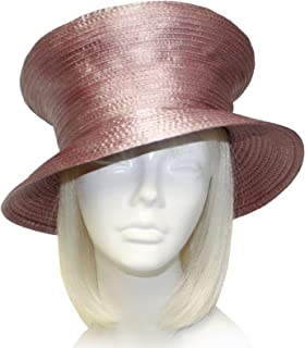 Mr. Song Millinery Satin-CRIN Mushroom Crown Hat Body - Assorted Colors (UNTRIMMED HAT ONLY) 302