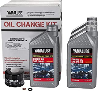 Yamaha Sidewinder/SR Viper Semi-Synthetic Oil Change Kit - LUB-SMBCG-KT-20
