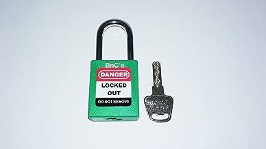 BnC Adjustable Gate Valve Lockout Red 1-6.5 Diameter 2 Pack
