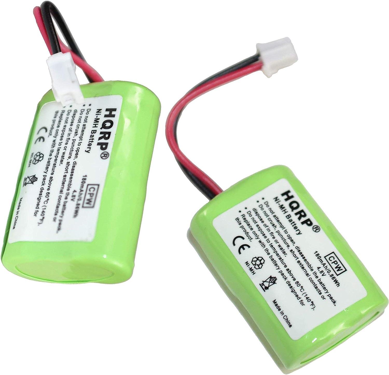 HQRP 2-Pack 180mAh Overseas parallel import regular item Battery Compatible PetSafe R Park Finally popular brand Yard with