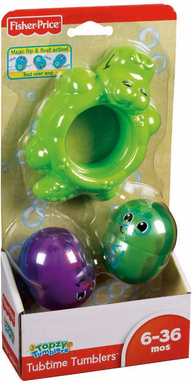 Fisher-Price Topzy Tumblers Tubtime Tumblers