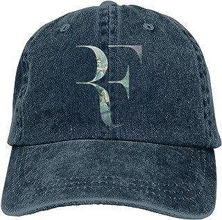 1ebbadc298d Marsherun Womens Mens Fashion Roger Federer Unisex Cowboy Baseball Hat