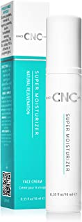 CNC Anti-Aging Super Moisturizer - All-Natural, Proprietary Formula of Clinically Proven Ingredients to Improve Skin Firmness, Gently Exfoliate, Deeply Hydrate, and Calm Irritated Skin - Mini 10ml