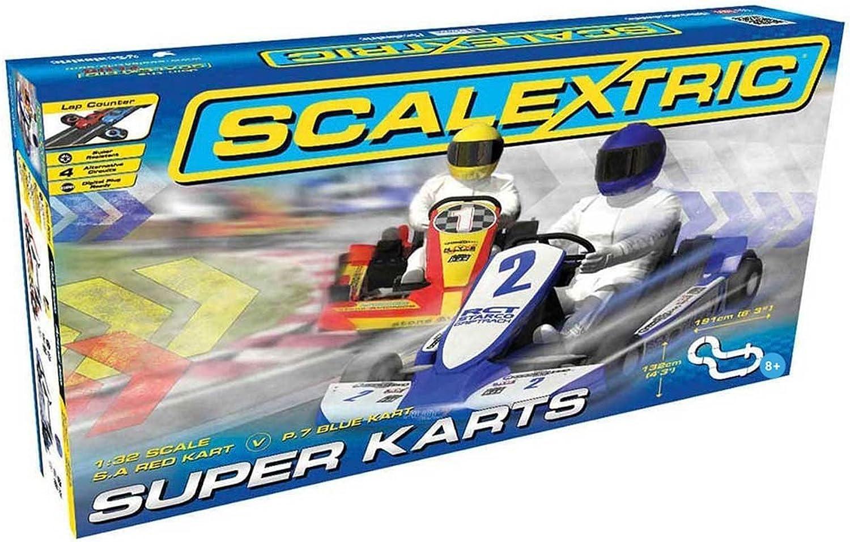 diseñador en linea Scalextric C1334 súper Karts Set Set Set  70% de descuento