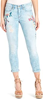 Juniors' Forever Rolled Ripped Skinny Jeans