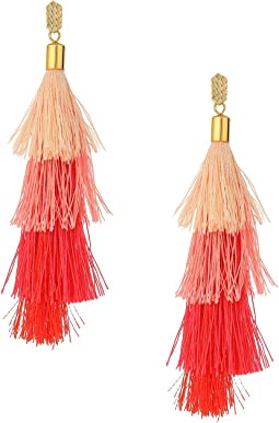 Rebecca Minkoff - Stacked Tassel Earrings