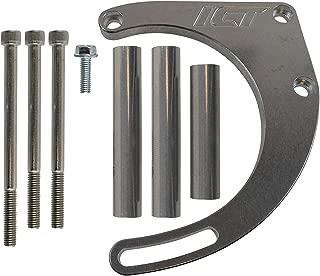 ICT Billet BBC Alternator Bracket Adjustable Electric Water Pump Low Mount Big Block Chevy Long Kit 551449