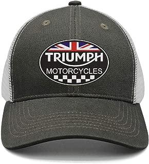 triumph motorcycle trucker hat
