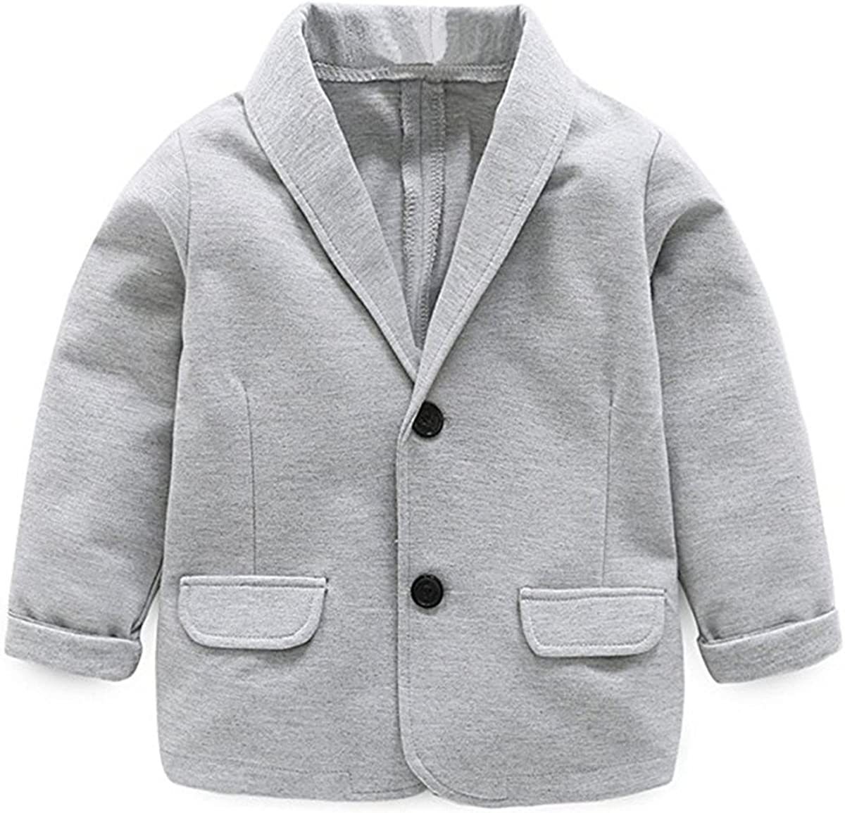 Limited time sale Little Kids Boys Girls Casual Coat Blazers Indefinitely Fashion Suit Jackets