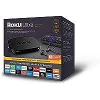 Deals on Roku Ultra 4K Streaming Player 4661R w/JBL Headphone