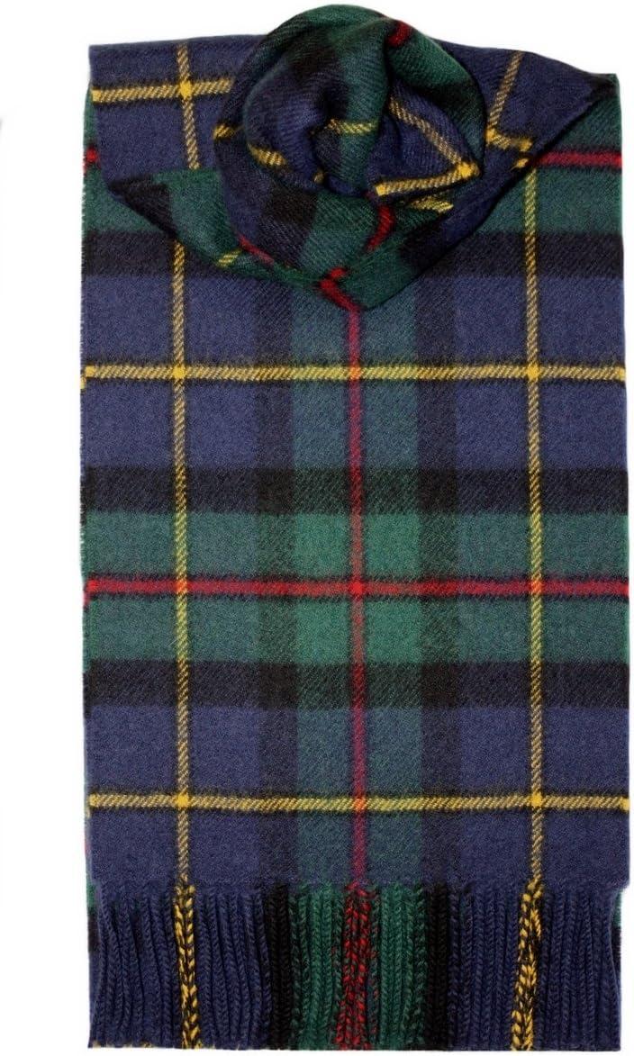 I LUV LTD MacLeod of Harris Tartan Scarf Modern Lambswool