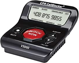 CPR V5000 Call Blocker for Landline Phones – Stop All Unwanted Calls at a Touch of a Button - Over 1 Million Sold - As Seen On TV