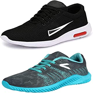 Bersache Men's Multicolor Combo Pack of 2 Canvas Casual,Sneakers,Loafers,Sports,Boots,Shoes