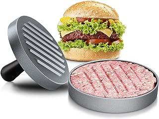 MAJCL Non Stick Burger Press Hamburger Patty Maker Beef Grill Meat Mold Makes 4 1/2
