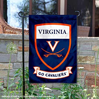 College Flags and Banners Co. Virginia Cavaliers Shield Garden Flag