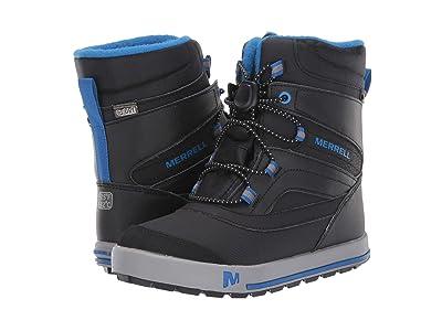 Merrell Kids Snow Bank 2.0 Waterproof (Toddler/Little Kid) (Black) Boys Shoes