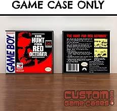 Gameboy Hunt for Red October - Game Case