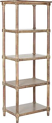 Safavieh American Homes Collection Odessa Grey 5 Tier Bookcase