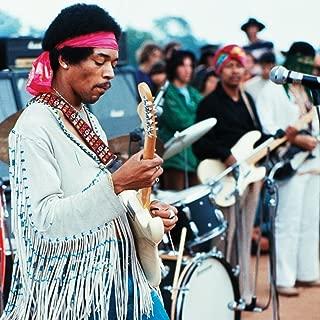 Historical Photo Collection 8 x 10 Photo Jimi-Hendrix-Woodstock- On High Qquality Fiji Film Paper