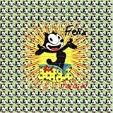 Felix The Cat Classic Design Psychedelic Blotter Art Print Perforated Sheet, Acid Free LSD Art Paper 30x30, 900 tabs, 7.5 inch, in Clear Protective Sleeve