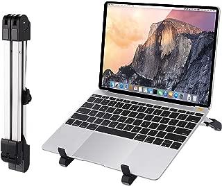 HOMDOX2019最新版 PCスタンド,ノートパソコン スタンド 3in1 折りたたみ式 PCホルダー アルミ合金 PC/MacBook/ラップトップ/iPad/タブレット 高さ&角度調整可能 PCスタンド 持ち運び便利 コンパクト 冷却 ノートパソコンスタンド (1)