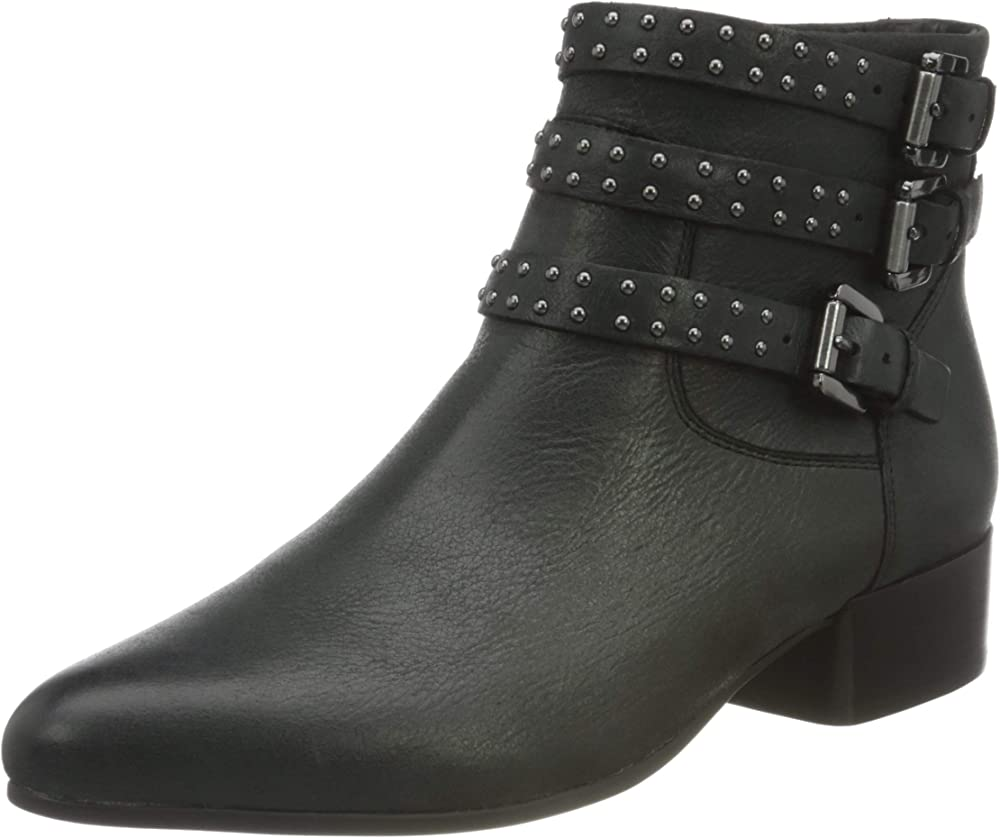 Geox d peython low c d, stivaletto donna in pelle D04HLD000CL