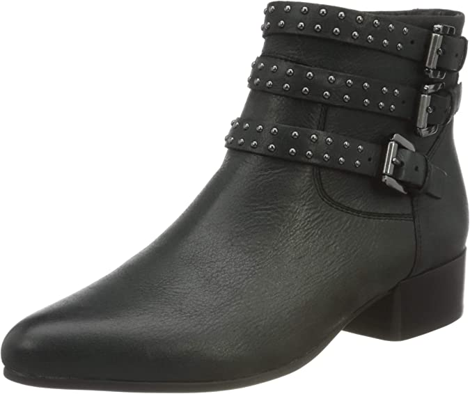 Geox D Peython Low C D, Ankle Boot Mujer