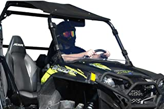 SuperATV Heavy Duty Clear Full Windshield for Polaris RZR 800/800 S / 800 4 / XP 900/570 / XP 4 900 (See Fitment for Compatible Years) - Easy Install!