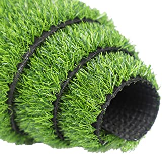 Artificial grass, Synthetic Turf Drainage Holes Faux Grass Rug Carpet for Pets Balcony Garden Decor Customized Sizes (Size : 2x3m)