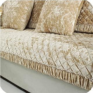 Non Slip Plush Sofa Cushion, Four Seasons Universal Cushion, Full Cover Sofa Cover,L,90210Cm
