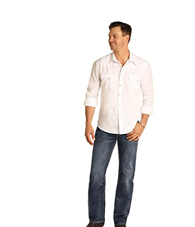 Rock and Roll Cowboy Reflex Double Barrel in Medium Wash M0S4218 (Medium Wash) Men