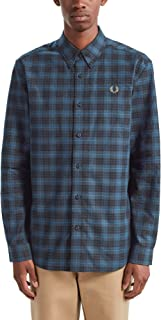 Men's Tartan Oxford Shirt M7557 963 Blue