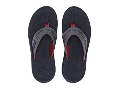 Quiksilver Layover Travel Sandal (Blue/Grey/Blue) Men