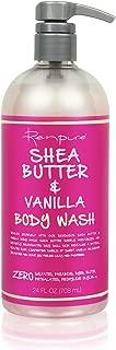 Renpure Shea Butter & Vanilla Body Wash, 24 Ounces (Pack of 3)