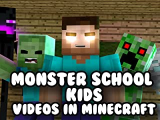 Monster School Kids - Videos in Minecraft