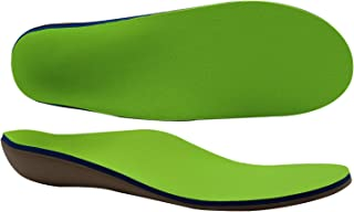 EVERHEALTH Arch Support Insoles Medical Footcare Orthotics Inserts for Men & Women, Shoe Cushion with PORON for Diabetic/Plantar Fasciitis/Heel Pain