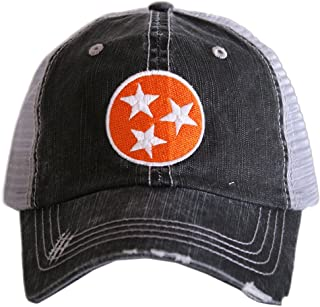 Tennessee Tri-Star Women's Trucker Hats Caps by Katydid
