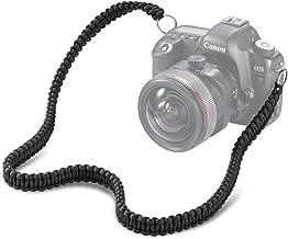 SOMA Camera Strap Paracord 550lb Vintage Camcorder Shoulder Neck Strap Belt for Canon Nikon Sony Olympus SLR DSLR Cameras (Black)