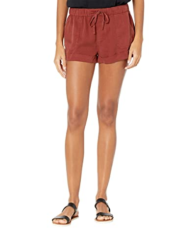 Volcom Sunday Strut Shorts (Brick) Women